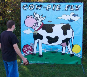 Cow Patty Toss
