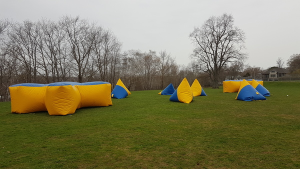 Laser Tag (Outdoor with Inflatable Bunkers)