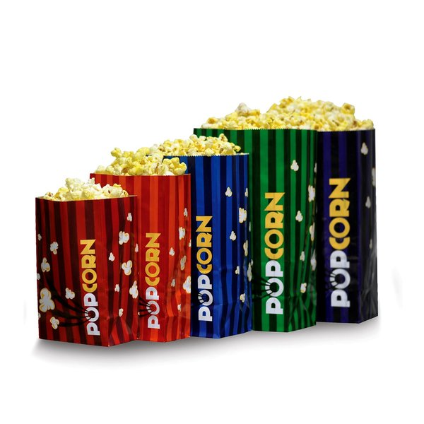 Pop Corn Bags - 46 oz